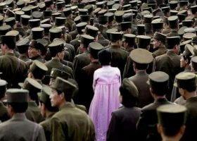 在朝鲜冒死拍下的照片。最真实的朝鲜人民生活